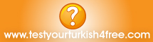 Online Turkish Test